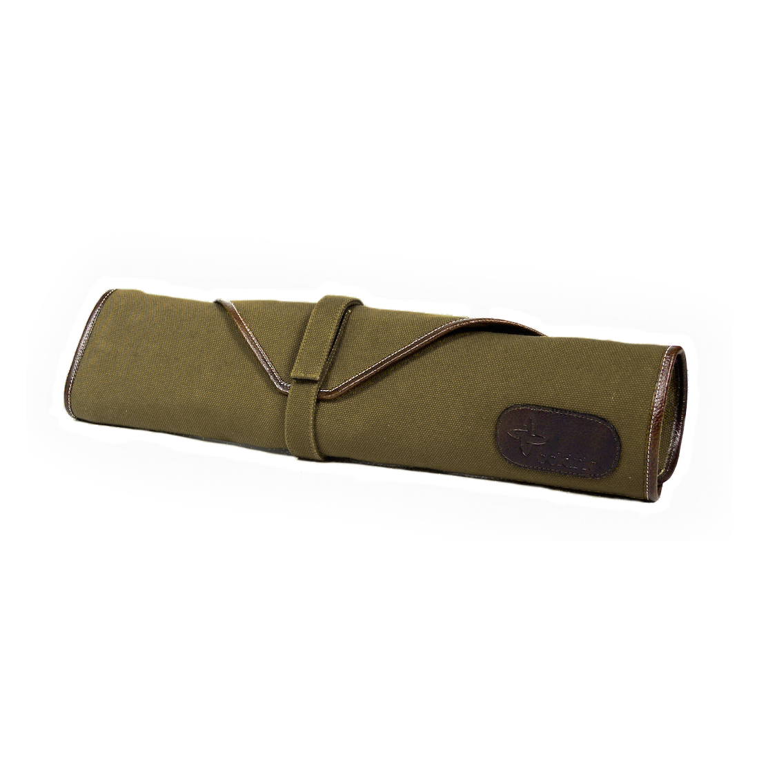 Boldric Khaki Canvas 6 Slot Knife Bag
