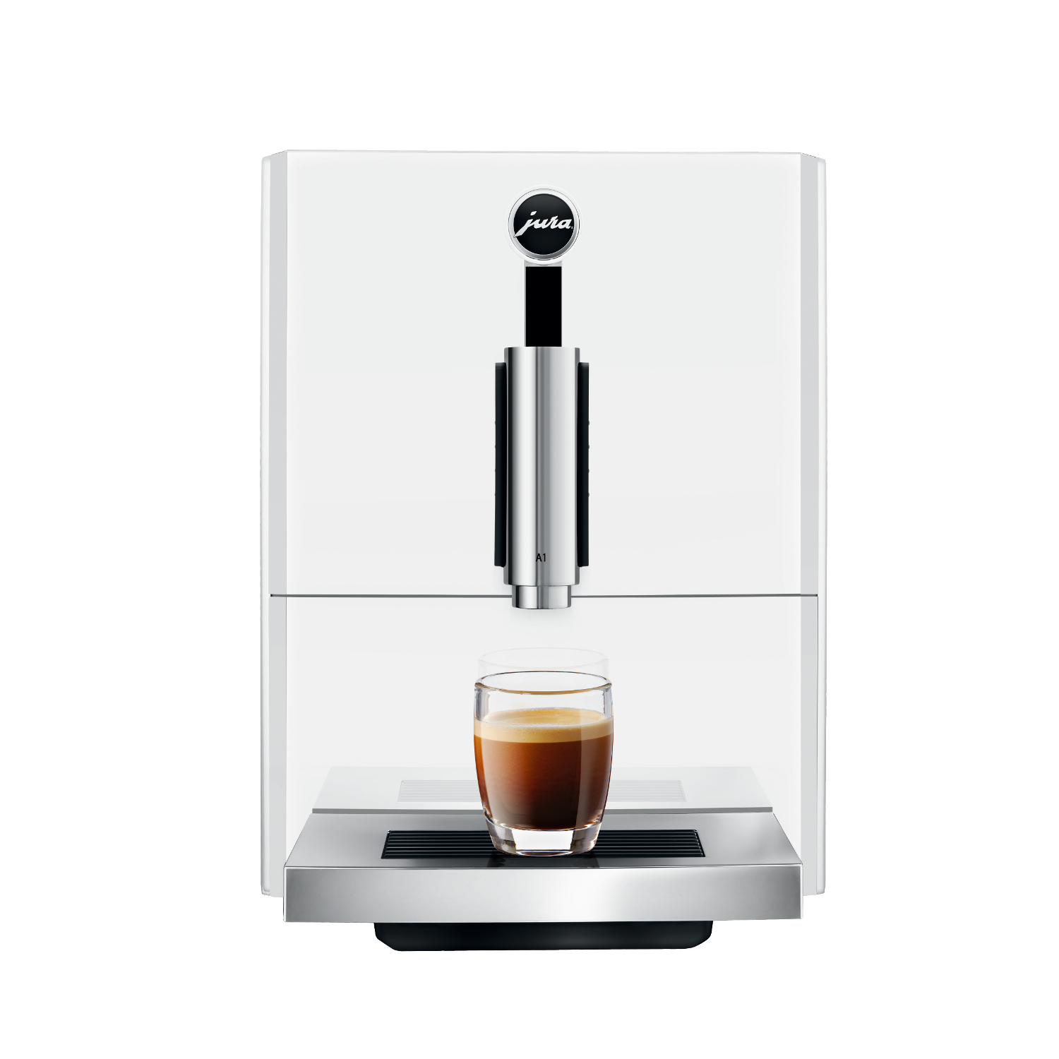 Jura A1 Piano White Espresso and Coffee Machine