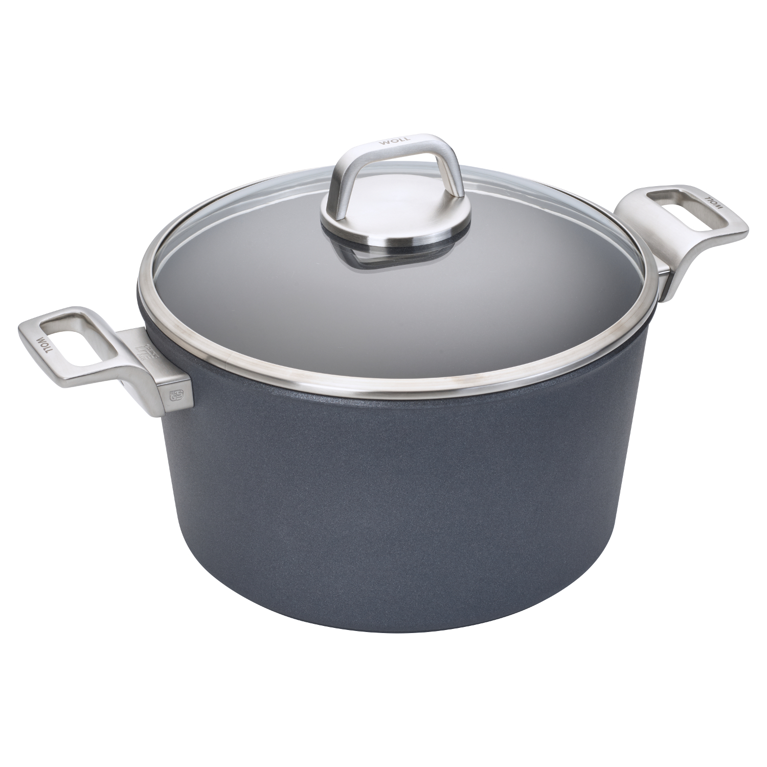 Woll Diamond Lite Pro 3.2 Quart Induction Stockpot with Lid