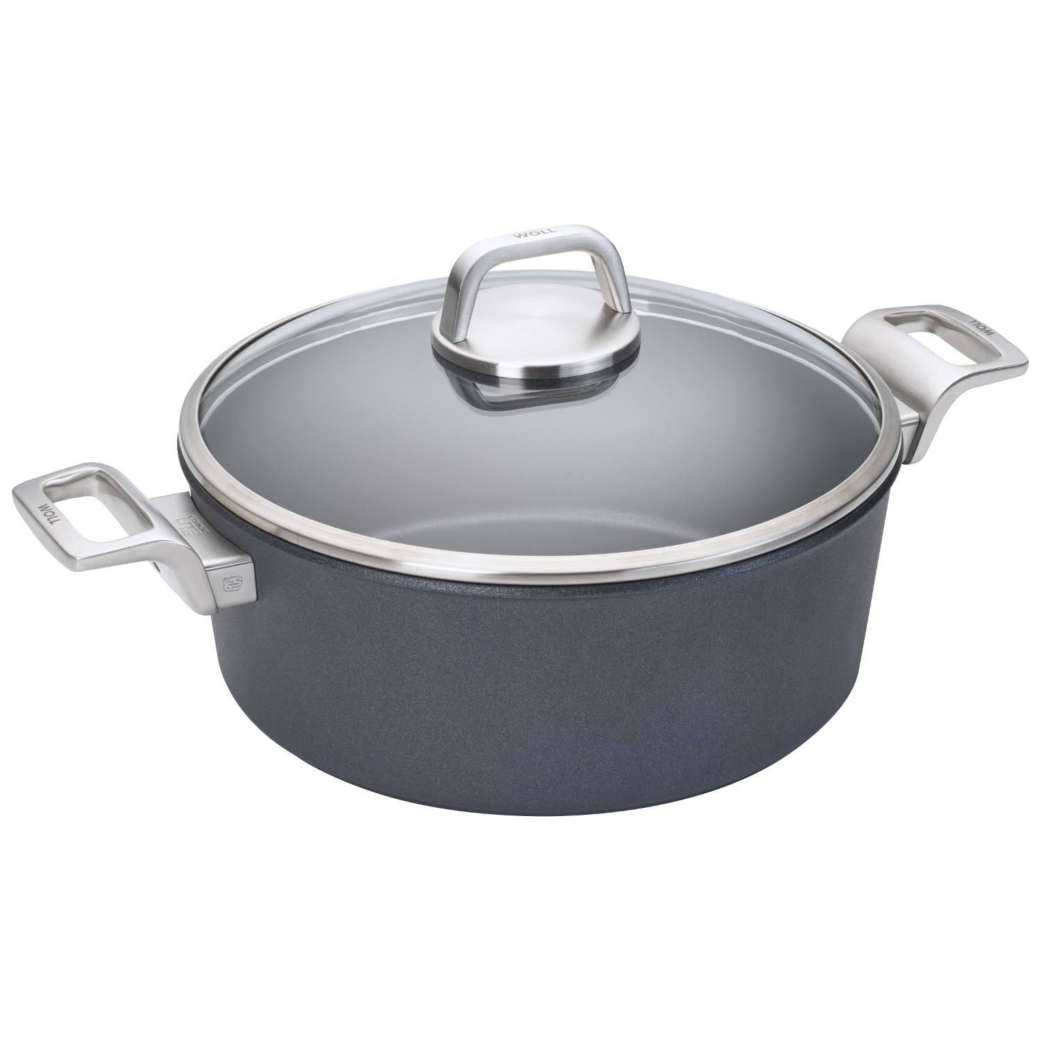 Woll Diamond Lite Pro 4.2 Quart Casserole with Lid