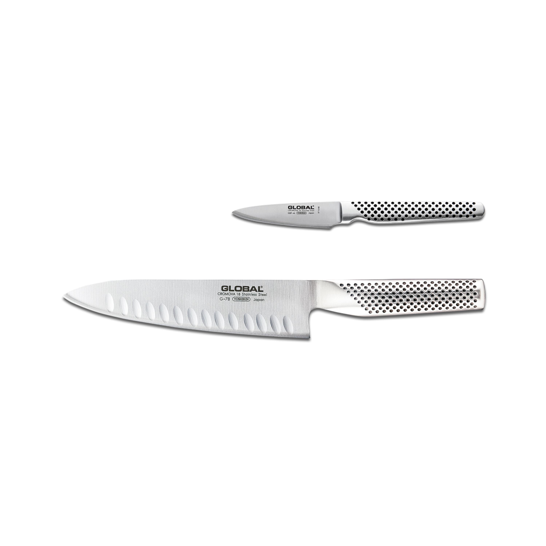 Global 2 Piece Knife Set