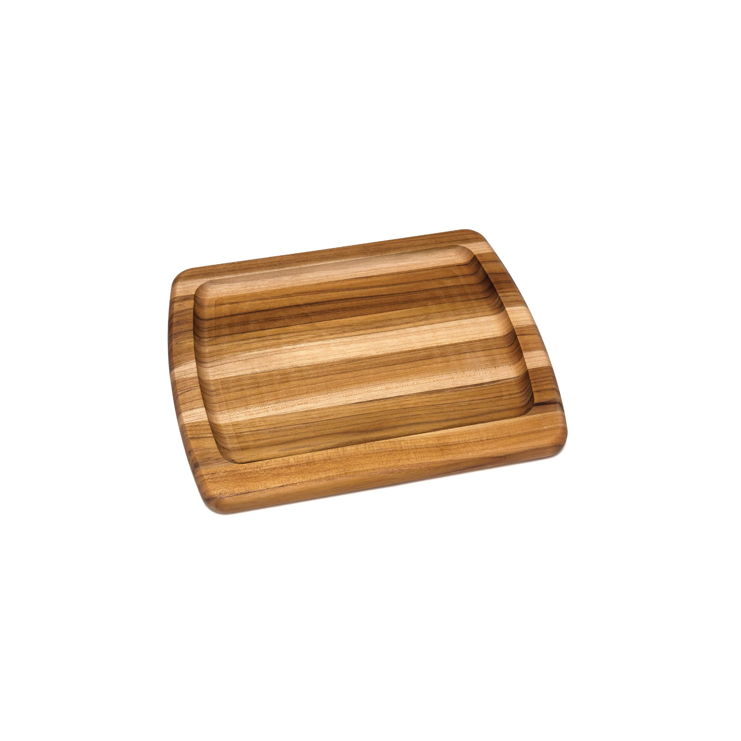 Lipper Teak Edge Grain Serving Platter