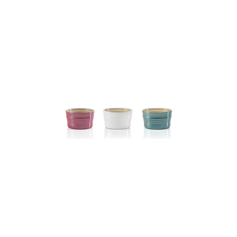 Le Creuset Metallics Collection Multicolored Ramekin, Set of 3