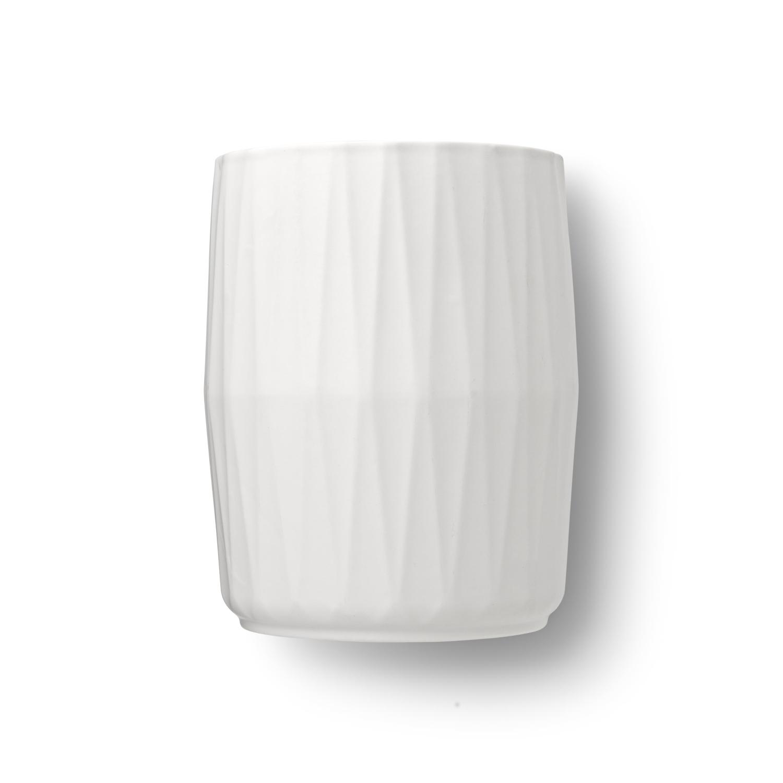 Chef'n White Ceramic Tool Crock with 14 Utensil Capacity
