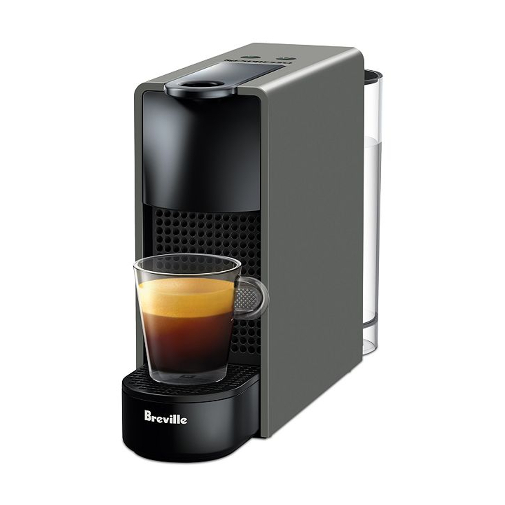 Nespresso by Breville Gray Essenza Mini Espresso Maker