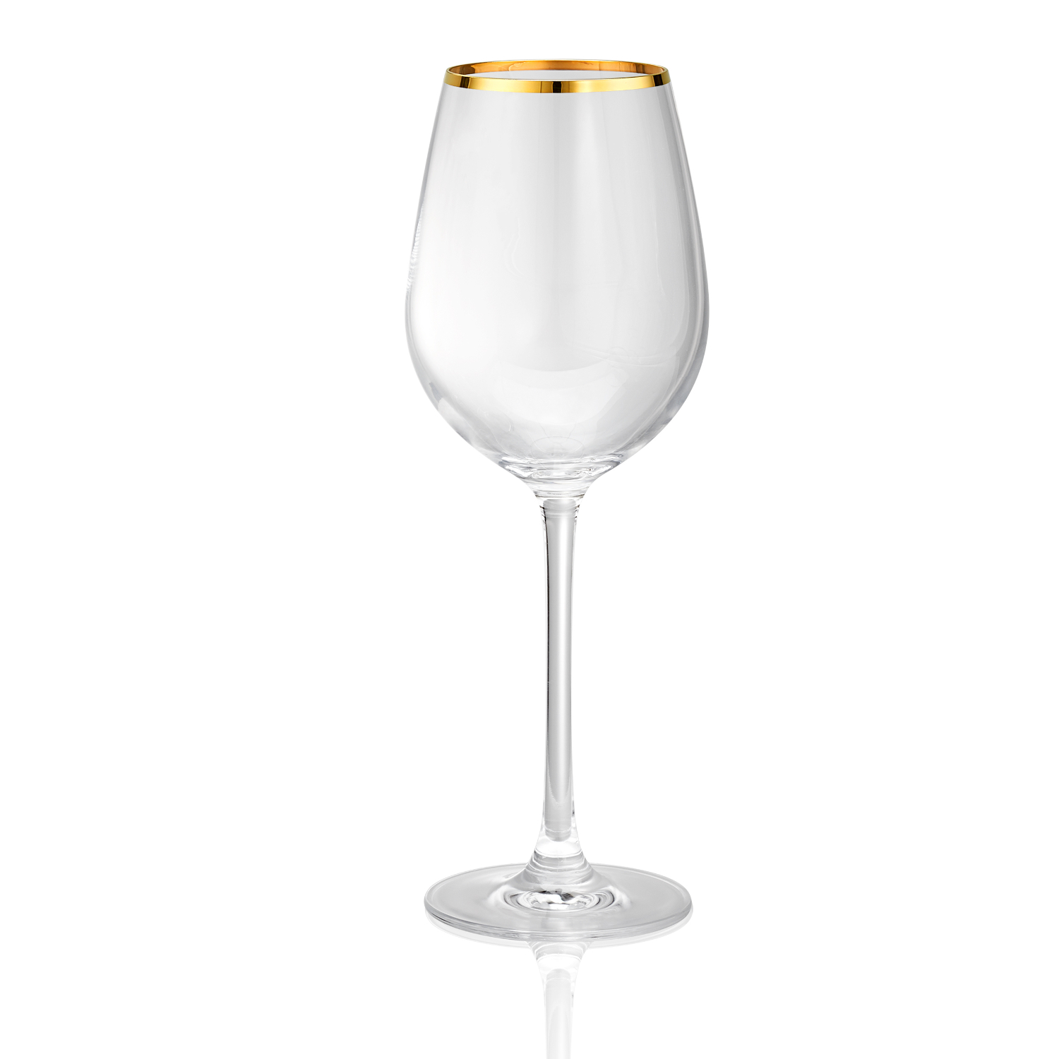 Artland Gold Band 15 Ounce White Wine Glass