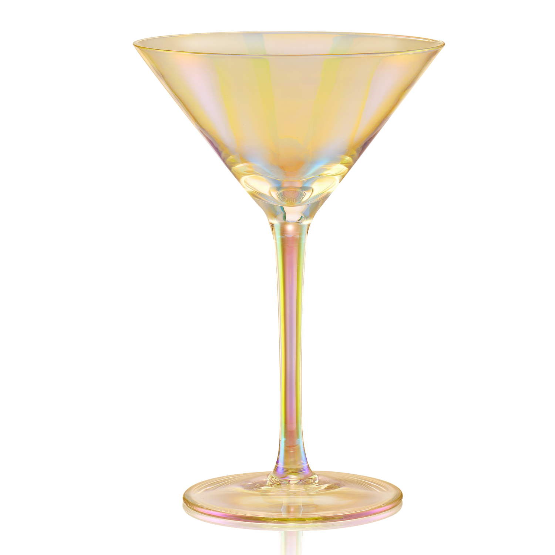 Artland Luster Gold 8 Ounce Martini Glass