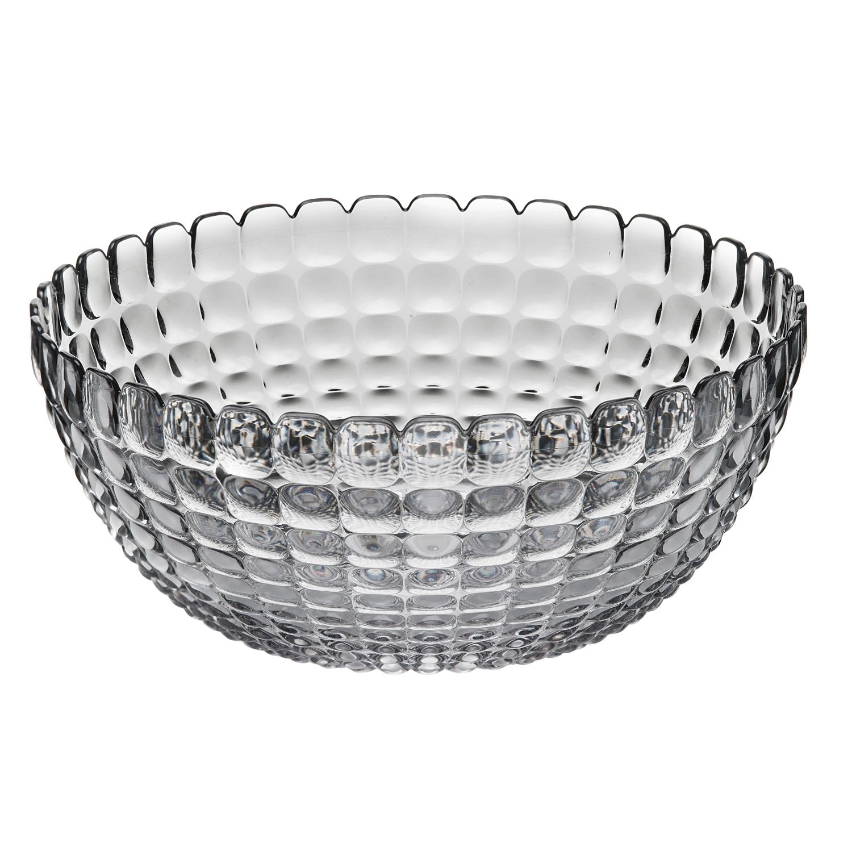 Guzzini Tiffany Grey Acrylic Large Bowl