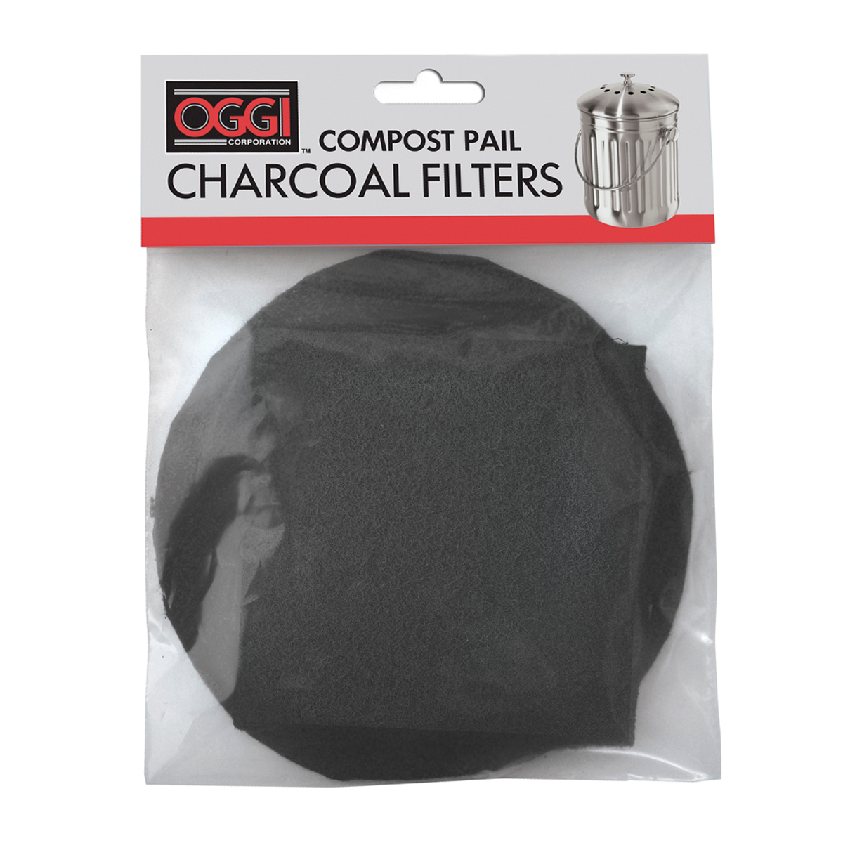 OGGI Black Charcoal Filter for Items #7320 and #7700, Set of 2