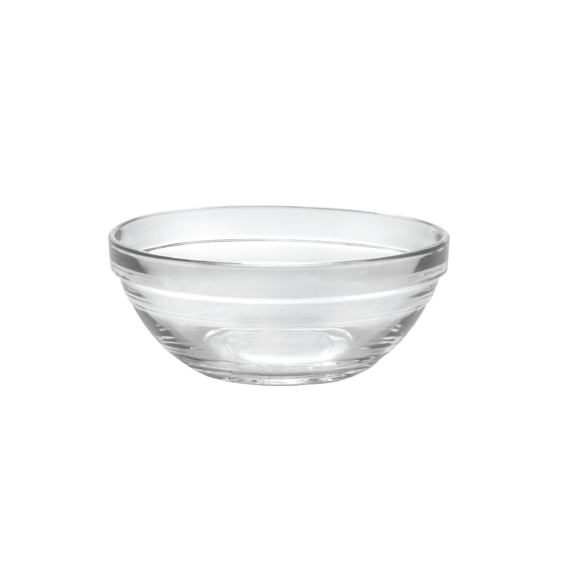 Duralex Lys Clear Glass 4.75 Inch Stackable Bowl