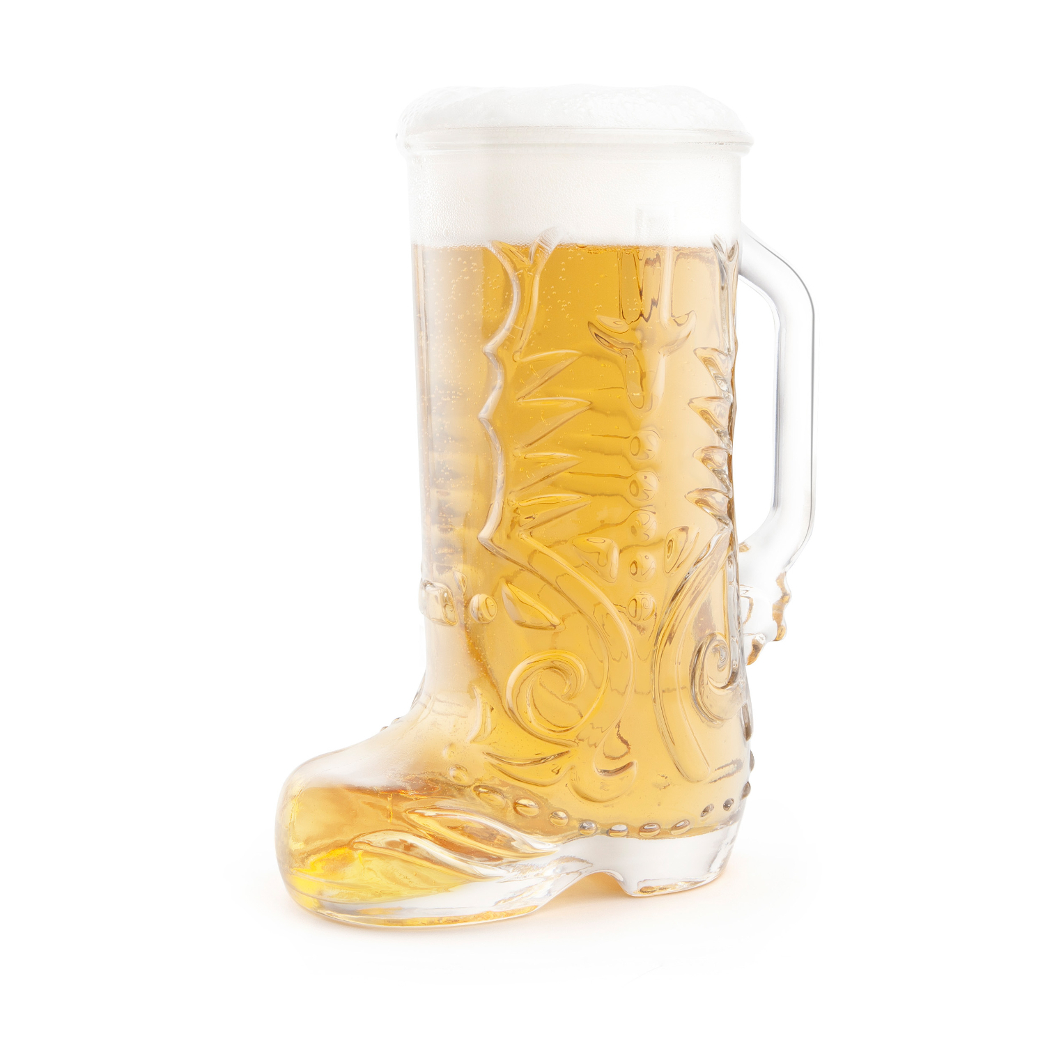 Final Touch 22-Ounce Wild West Boot Glass