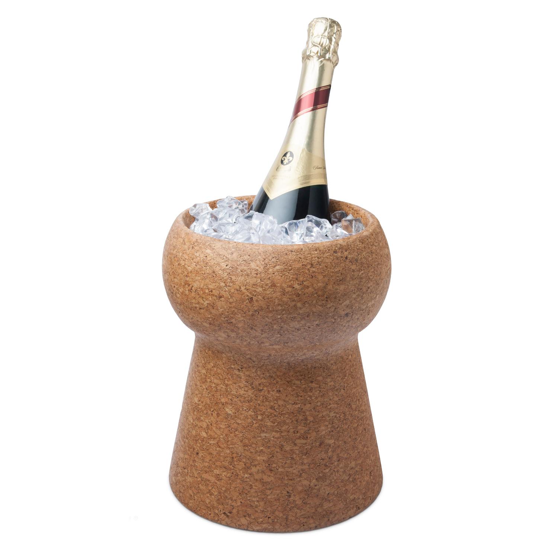 Final Touch 3-Liter Champagne & Wine Cork Beverage Bin