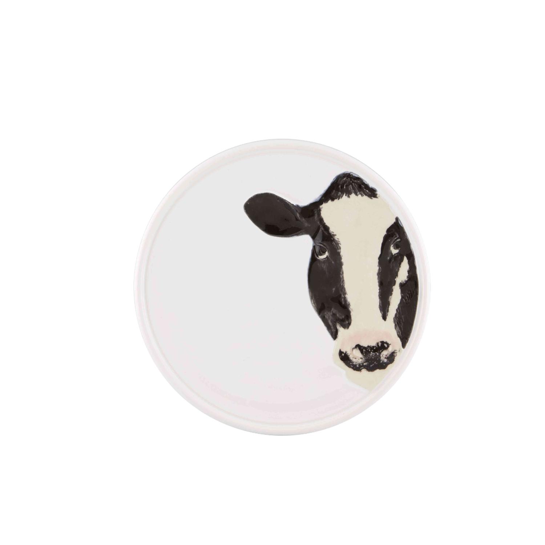 Bordallo Pinheiro Meadow Earthenware 4 Piece Assorted Cheese Plate Set