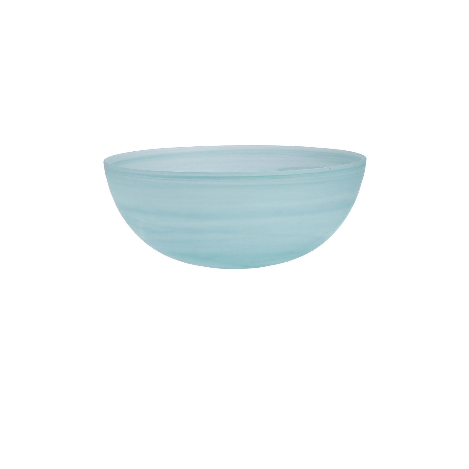D&V La Jolla Sage Green Glass Large Salad Bowl