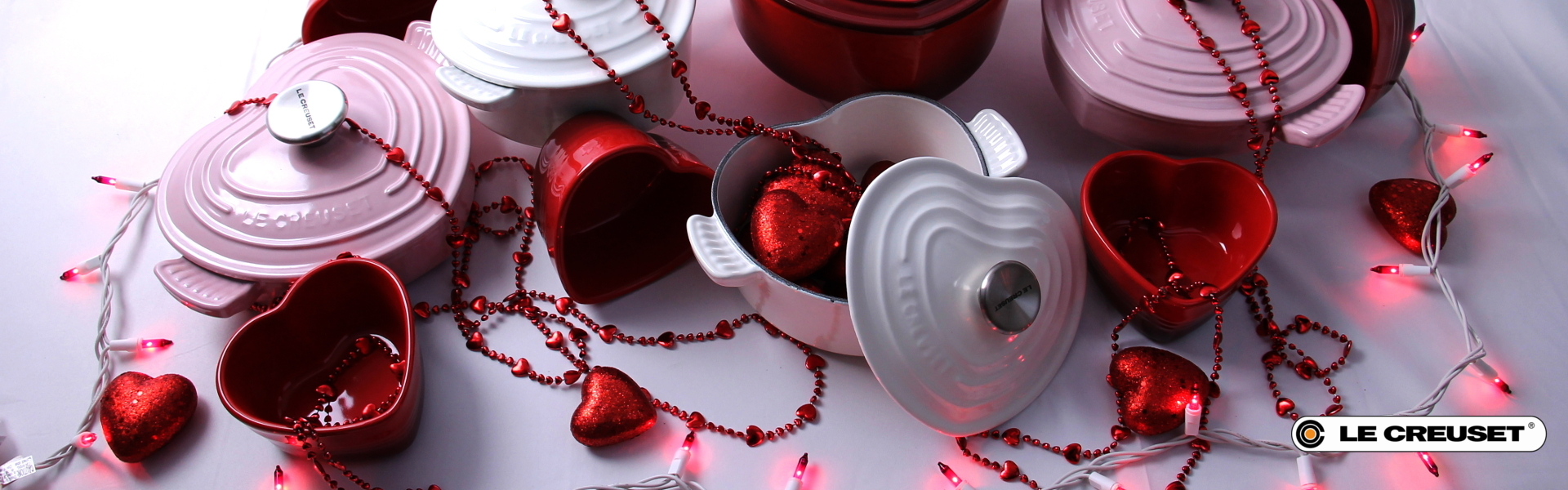 Shop Le Creuset's Valentine's Day Products and Heart Collection
